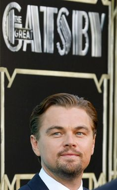 Leonardo DiCaprio at event of The Great Gatsby