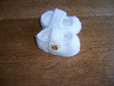 Hand Knitted Baby Bootees. £4.00