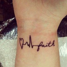 This looks cool! But I would want it with my Mom's EKG. Ankle Tattoos, Foot Tattoos, Cute Tattoos, Print Tattoos, Sleeve Tattoos, Tatoos, Cross Tattoos, Ekg Tattoo, Piercing Tattoo