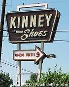 Kinney shoe store