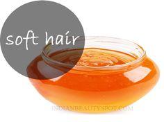 soft, shiny moisturized hair - homemade beauty #DIY