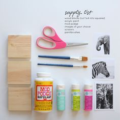 DIY Image Transferring With Mod Podge   Craft Your Christmas Presents