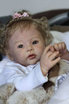 """Reborn baby """" Raven """" By Ping Lau New release LE girl"""