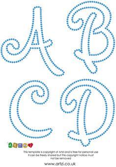 Buchstaben Vorlage Für Fadebilder String Art String Art String