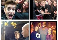 Meeting Justin Bieber in Chicago, October 23rd 2012