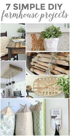 7 Simple DIY Farmhouse Projects