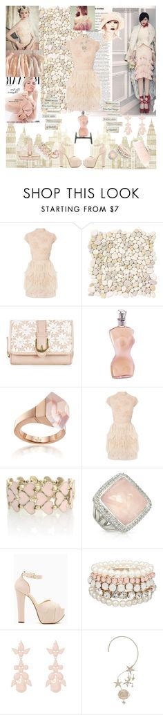"""""""Fair Fur..."""" by caramelpz ❤ liked on Polyvore featuring Coast, WALL, Christian Dior, Jean-Paul Gaultier, Gucci, Oasis, Sho, Alexander McQueen, MOOD and Erickson Beamon"""