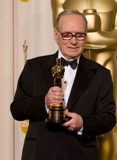 Ennio morricone. one of the three best movie composer