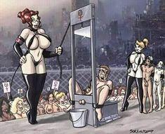 Petr Simacek added a new photo. Adult Cartoons, Sexy Cartoons, Spanking Art, Out Of My Mind, Girls Rules, Dominatrix, Anime Comics, Real Women, Art Google