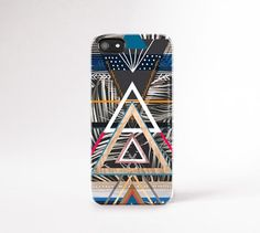 Mens Cases iPhone 6 Case Wood Print Geometric by casesbycsera
