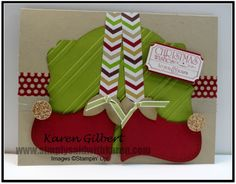 Christmas Elf Shoes by kaygee47 - Cards and Paper Crafts at Splitcoaststampers