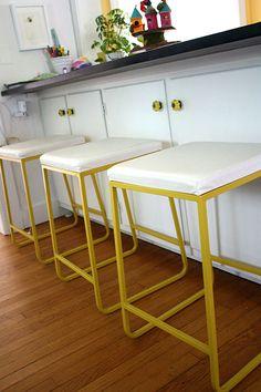 Yellow stools