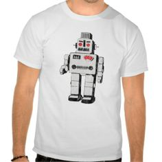 vintage robot Shirt