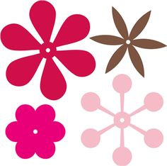 Welcome to the Silhouette Design Store, your source for craft machine cut files, fonts, SVGs, and other digital content for use with the Silhouette CAMEO® and other electronic cutting machines. Paper Flower Backdrop, Giant Paper Flowers, Felt Flowers, Diy Flowers, Leaf Template, Flower Template, Templates, Flower Patterns, Flower Designs