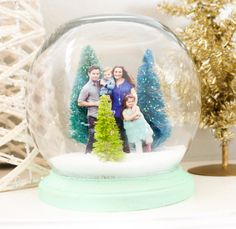 If you love Christmas and crafting, there is no doubt that you have seen tutorials for faux snow globes all over the blog world. Whether th...