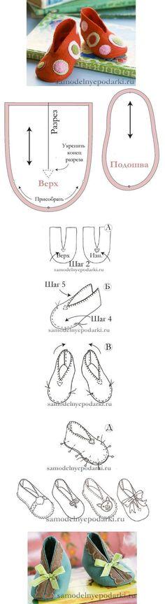 Anleitung für Baby Booties