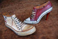 Minor Narratives - A shoe-tree narrates. Shoe Molding, Shoe Stretcher, Hand Painted Shoes, Shoe Last, Shoe Tree, Vintage Shoes, Decoration, Altered Art, On Shoes