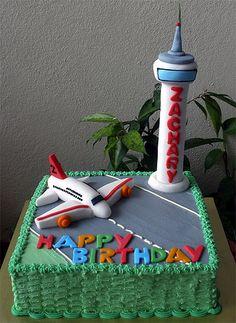 Aeroplane Cake