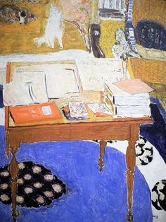 Pierre Bonnard, Work Table,