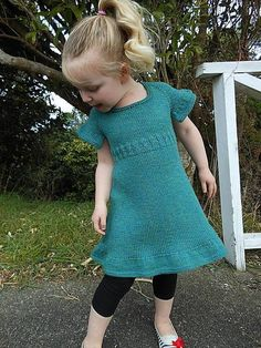 Zita is a sweet dress for a sweet girl!With a easy to knit mock cable bodice, a full and twirly ruffled skirt and options of capped or ruffled sleeves, this dress has everything a little girl wants!Designed to be knit with either a wool or cotton blend yarn, this dress is multi-seasonal and easy to wear, as well as being interesting, but not difficult to knit. The 20stitch gauge makes this perfect for either a DK weight yarn, or a light worsted!Knit from the top down, and in the round, this…