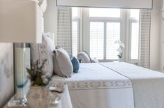 This stunning Romantic Transitional Bedroom is the work of Waxhaw, North Carolina-based Interior Designer Sara Lynn Brennan.  Sara is a nationally published, award-winning Interior Designer who specializes in the timeless, classic design style of Romantic Transitional Design.  Follow her on Instagram @saralynnbrennan Romantic Bedroom Design, Romantic Master Bedroom, Master Bedroom Design, Bedroom Designs, Dream Bedroom, Master Bathroom Layout, Master Bathrooms, Transitional Living Rooms, Transitional Decor