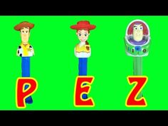 Disney Pixar Toy Story Pez Dispenser Collection Woody Jessie Buzz Lightyear Candy | LittleWishes - YouTube