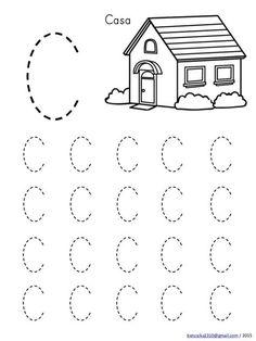 Handwriting Worksheets For Kids, Alphabet Tracing Worksheets, Shapes Worksheets, Kindergarten Math Worksheets, Preschool Writing, Numbers Preschool, Preschool Learning Activities, Preschool Printables, Junho