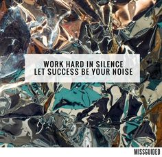 It's Monday.make this week successful. Words Of Wisdom Quotes, Encouragement Quotes, Wise Words, Quotes To Live By, Me Quotes, Daily Quotes, Great Quotes, Inspirational Quotes, Work Hard In Silence