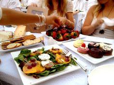 Diner en Blanc food ideas #DinerEnBlanc
