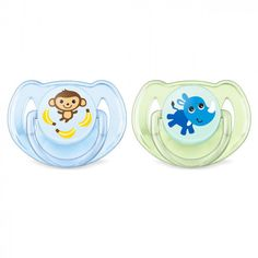 """PHILIPS AVENT Pacifier /""""CLASSIC/"""" SCF169//35-2x Schnuller Silikon 0-6m+"""