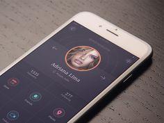 Read 30 Dark iPhone App UI Designs