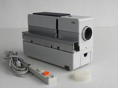 Dieter Rams, Braun D 45 Slide Projector, 1960