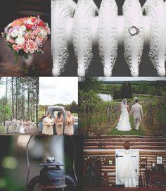 Rustic Vineyard Wedding Goochland, VA {meagan abell photography}