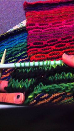NORO BLYTHE BLANKET by Jane Ellison TUTORIAL