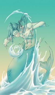 Merman the water bender