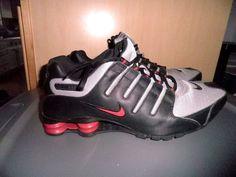 Nike Shox NZ Black/Varsity Red Mens Shoes 378341-010 Size 13 #Nike #ShoxNZ