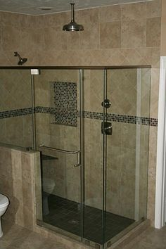 With this custom shower you just have to -Let it rain!