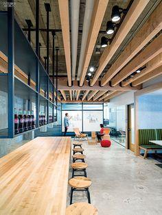 2014 BOY Winner: Office Café/Cafeteria   Projects   Interior Design