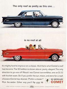 1963 Mercury Comet.