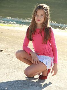 Pink long sleeve pullover and cute striped pleated skirt. Girls Pink long sleeve pullover and cute striped pleated skirt. Cute Little Girl Dresses, Little Girl Models, Girls In Mini Skirts, Cute Young Girl, Beautiful Little Girls, Cute Girl Outfits, Kids Outfits Girls, Cute Outfits For Kids, Cute Little Girls