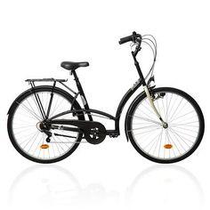 Cycle_vélos Fietsen - Stadsfiets Elops 300 B'twin - Sporten
