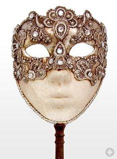 Venezianische Maske                                                                                                                                                                                 Mehr
