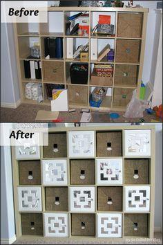 My So-Called DIY Blog: DIY Doors for IKEA Expedit Cubby Shelf
