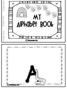 Freebie Alphabet Collage Book!