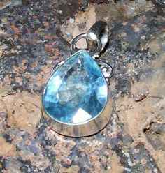 Crystal Blue Dragon Pendant http://dragonstarrising.blogspot.com/2014/06/topaz-crystal-dragon-thales.html