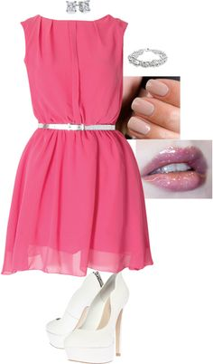 """""""A girl in love"""" by blackqueen123 ❤ liked on Polyvore"""