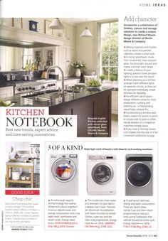 Martin Moore's English kitchen.. plus top design tips martinmoore.com House Beautiful April 2015