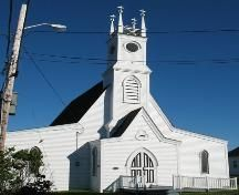 Barnabas' Church is a Greek Revival styled building, built in located in the heart of the small fishing village of Blue Rocks, NS. The Municipal Heritage Designation applies to the building and building footprint. Cabot Trail, Anglican Church, Cape Breton, Church Building, Prince Edward Island, Blues Rock, Fishing Villages, Place Of Worship
