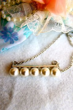 Five Little Pearls necklace