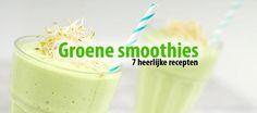 7 recepten voor groene smoothies :)